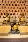 Statues of the Buddha, Wat Si Saket, Vientiane, Laos, Indochina, Southeast Asia, Asia Stock Photo - Premium Rights-Managed, Artist: Robert Harding Images, Code: 841-06031701
