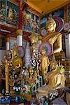 Buddha statues, Wat Hai Sok, Vientiane, Laos, Indochina, Southeast Asia, Asia Stock Photo - Premium Rights-Managed, Artist: Robert Harding Images, Code: 841-06031703