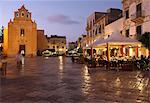 Piazza Matrice at dusk, Trapani, Favignana Island, Sicily, Italy, Europe Stock Photo - Premium Rights-Managed, Artist: Robert Harding Images, Code: 841-06031772