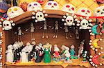 Day of the Dead Folk Art, Oaxaca City, Oaxaca, Mexico, North America Stock Photo - Premium Rights-Managed, Artist: Robert Harding Images, Code: 841-06031787