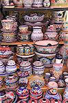 Talavera Pottery, El Parian Market, Puebla, Historic Center, Puebla State, Mexico, North America Stock Photo - Premium Rights-Managed, Artist: Robert Harding Images, Code: 841-06031811