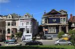 Victorian architecture, Painted Ladies, Alamo Square, San Francisco, California, United States of America, North America Stock Photo - Premium Rights-Managed, Artist: Robert Harding Images, Code: 841-06031844