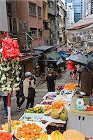 Street in Mid Levels, Hong Kong Island, Hong Kong, China, Asia Stock Photo - Premium Rights-Managednull, Code: 841-06031953