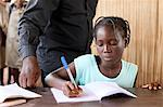 Secondary school in Africa, Hevie, Benin, West Africa, Africa Stock Photo - Premium Rights-Managed, Artist: Robert Harding Images, Code: 841-06032082