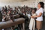 Primary school in Africa, Lome, Togo, West Africa, Africa Stock Photo - Premium Rights-Managed, Artist: Robert Harding Images, Code: 841-06032308
