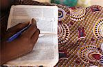 Bible reading, Evangelical church, Lome, Togo, West Africa, Africa Stock Photo - Premium Rights-Managed, Artist: Robert Harding Images, Code: 841-06032334