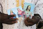 Religious images of Christ and Mary, Lome, Togo, West Africa, Africa Stock Photo - Premium Rights-Managed, Artist: Robert Harding Images, Code: 841-06032347