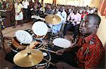 Catholic Mass in an African church, Lome, Togo, West Africa, Africa Stock Photo - Premium Rights-Managed, Artist: Robert Harding Images, Code: 841-06032358