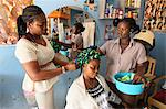 Hairdressing workshop, Lome, Togo, West Africa, Africa Stock Photo - Premium Rights-Managed, Artist: Robert Harding Images, Code: 841-06032388