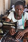 Tailoring workshop, Lome, Togo, West Africa, Africa Stock Photo - Premium Rights-Managed, Artist: Robert Harding Images, Code: 841-06032395