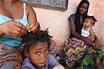Hairdresser at home, Lome, Togo, West Africa, Africa Stock Photo - Premium Rights-Managed, Artist: Robert Harding Images, Code: 841-06032445