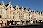 Flemish Baroque facades at the cobbled Petite Place (Place des Heros), Arras, Nord-Pas de Calais, France, Europe Stock Photo - Premium Rights-Managed, Artist: Robert Harding Images, Code: 841-06032612