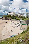 South Beach, Tenby, Pembrokeshire, Wales, United Kingdom, Europe Stock Photo - Premium Rights-Managed, Artist: Robert Harding Images, Code: 841-06032834