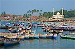 Vizhinjam, fishing harbour near Kovalam, Kerala, India, Asia Stock Photo - Premium Rights-Managed, Artist: Robert Harding Images, Code: 841-06032969