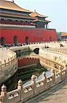 River of Gold, Forbidden City, Beijing, China, Asia Stock Photo - Premium Rights-Managed, Artist: Robert Harding Images, Code: 841-06033093
