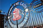 Haway The Lads Gate at The Stadium of Light, Sunderland, Tyne and Wear, England, United Kingdom, Europe Stock Photo - Premium Rights-Managed, Artist: Robert Harding Images, Code: 841-06033215