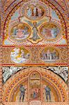 Frescoes decorating interior of Matthias Church (Matyas-Templom), UNESCO World Heritage Site, Buda, Budapest, Hungary, Europe Stock Photo - Premium Rights-Managed, Artist: Robert Harding Images, Code: 841-06033393
