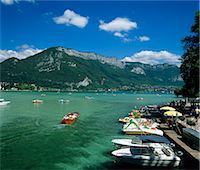 Annecy, Lake Annecy, Rhone Alpes, France, Europe Stock Photo - Premium Rights-Managednull, Code: 841-06033503