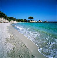 Palombaggia Beach, near Porto Vecchio, South East Corsica, Corsica, France, Mediterranean, Europe Stock Photo - Premium Rights-Managednull, Code: 841-06033744