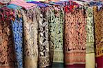 Scarves and shawls for sale at the Sharia el Souk market in Aswan, Egypt, North Africa, Africa Stock Photo - Premium Rights-Managed, Artist: Robert Harding Images, Code: 841-06033855