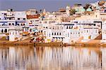 Pushkar Lake, Rajasthan, India, Asia Stock Photo - Premium Rights-Managed, Artist: Robert Harding Images, Code: 841-06034018