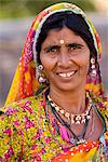 Portrait of local woman, Pushkar Lake, Rajasthan, India, Asia Stock Photo - Premium Rights-Managed, Artist: Robert Harding Images, Code: 841-06034019