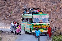 Public bus, Rajasthan, India, Asia Stock Photo - Premium Rights-Managednull, Code: 841-06034026