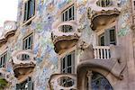 Facade of Casa Batlo, UNESCO World Heritage Site, Barcelona, Catalonia, Spain, Europe Stock Photo - Premium Rights-Managed, Artist: Robert Harding Images, Code: 841-06034093