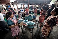 food stalls - Food stalls in market, Chichicastenango, Western Highlands, Guatemala, Central America Stock Photo - Premium Rights-Managednull, Code: 841-06034219