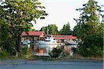 Docked Boats, Bobcaygeon, Trent-Severn Waterway, Ontario, Canada Stock Photo - Premium Rights-Managed, Artist: Raoul Minsart, Code: 700-06037906