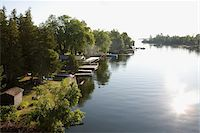 View of Trent-Severn Waterway, Bobcaygeon, Ontario, Canada Stock Photo - Premium Rights-Managednull, Code: 700-06037908