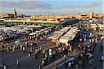 Djemaa El Fna Market Square, Marrakech, Morocco Stock Photo - Premium Rights-Managed, Artist: Raimund Linke, Code: 700-06037986