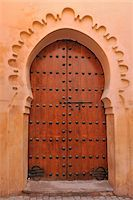 Typical Doorway, Marrakech, Morocco Stock Photo - Premium Rights-Managednull, Code: 700-06038002