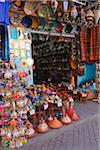 Shop in Traditional Souk, Marrakech, Morocco