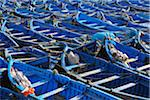 Blue Fishing Boats, Essaouira, Morocco Stock Photo - Premium Rights-Managed, Artist: Raimund Linke, Code: 700-06038041