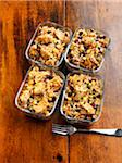 Individual Servings of Chicken Casserole in Reuseable Glass Containers Stock Photo - Premium Royalty-Free, Artist: Edward Pond, Code: 600-06038247