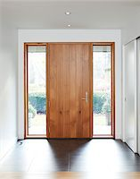 Front Door of Home Stock Photo - Premium Rights-Managednull, Code: 700-06038230