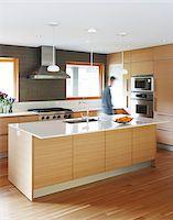 Man in Kitchen Stock Photo - Premium Rights-Managednull, Code: 700-06038232