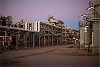 refinery - Infrastructure of oil refinery Stock Photo - Premium Royalty-Freenull, Code: 649-06040440