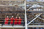 Workers standing on ledge together Stock Photo - Premium Royalty-Free, Artist: Marc Simon, Code: 649-06040463