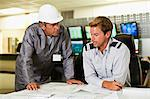Men working in security control room Stock Photo - Premium Royalty-Free, Artist: Robert Harding Images, Code: 649-06040511