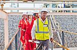 Workers walking at chemical plant Stock Photo - Premium Royalty-Free, Artist: Marc Simon, Code: 649-06040570