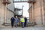 Workers walking at chemical plant Stock Photo - Premium Royalty-Free, Artist: Marc Simon, Code: 649-06040576