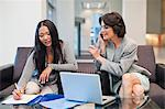 Businesswomen working together Stock Photo - Premium Royalty-Free, Artist: Norbert Schäfer, Code: 649-06040692