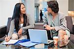 Businesswomen working together Stock Photo - Premium Royalty-Free, Artist: CulturaRM, Code: 649-06040693