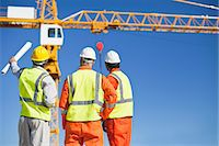 Workers talking at construction site Stock Photo - Premium Royalty-Freenull, Code: 649-06040718