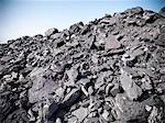 Piles of coal at mine Stock Photo - Premium Royalty-Free, Artist: Westend61, Code: 649-06041514