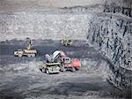 Construction work in coal mine Stock Photo - Premium Royalty-Freenull, Code: 649-06041521