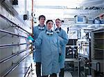 Scientists standing together in lab Stock Photo - Premium Royalty-Free, Artist: Science Faction, Code: 649-06041574