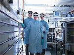 Scientists wearing goggles in lab Stock Photo - Premium Royalty-Free, Artist: Blend Images, Code: 649-06041575